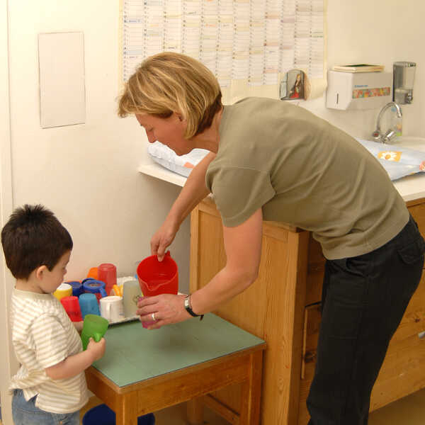 kindergartenassistentin